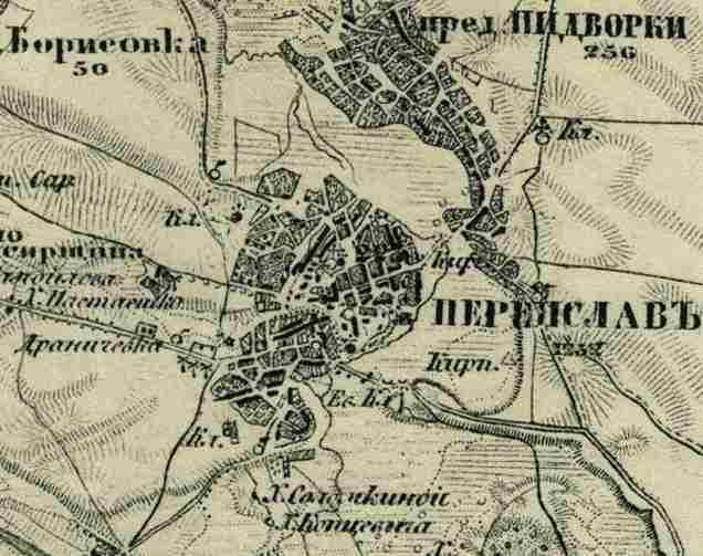 Старые Карты Шуберта Калужской Губернии