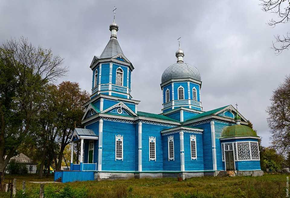 Церковь святой Параскевы в селе Антиповка
