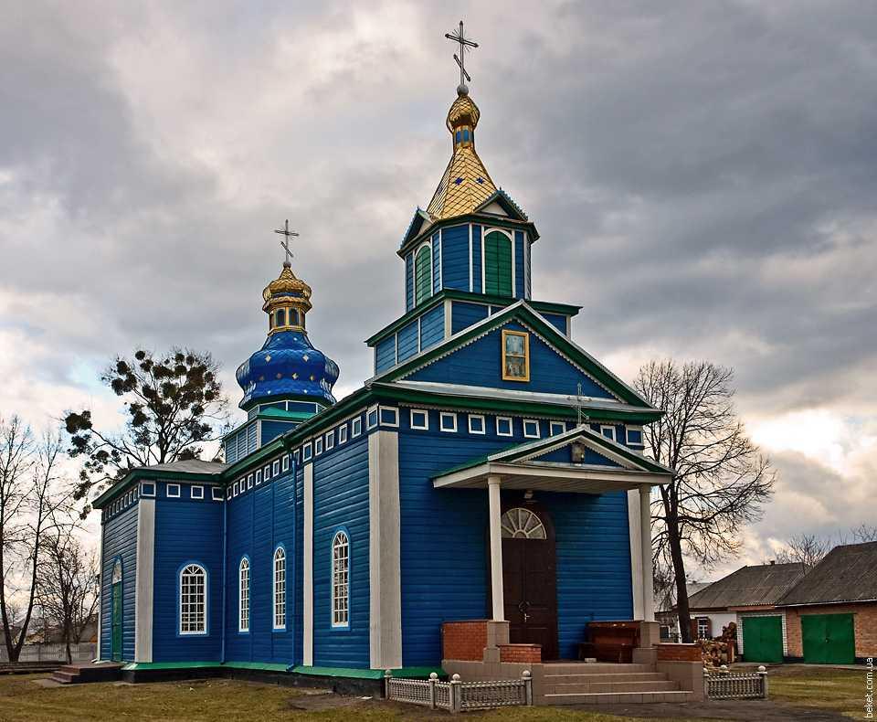 Свято-Преображенская церковь в селе Белозерье
