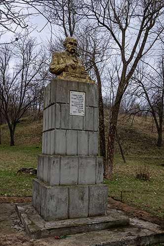 Бюст Т.Г. Шевченко в селе Балаклея