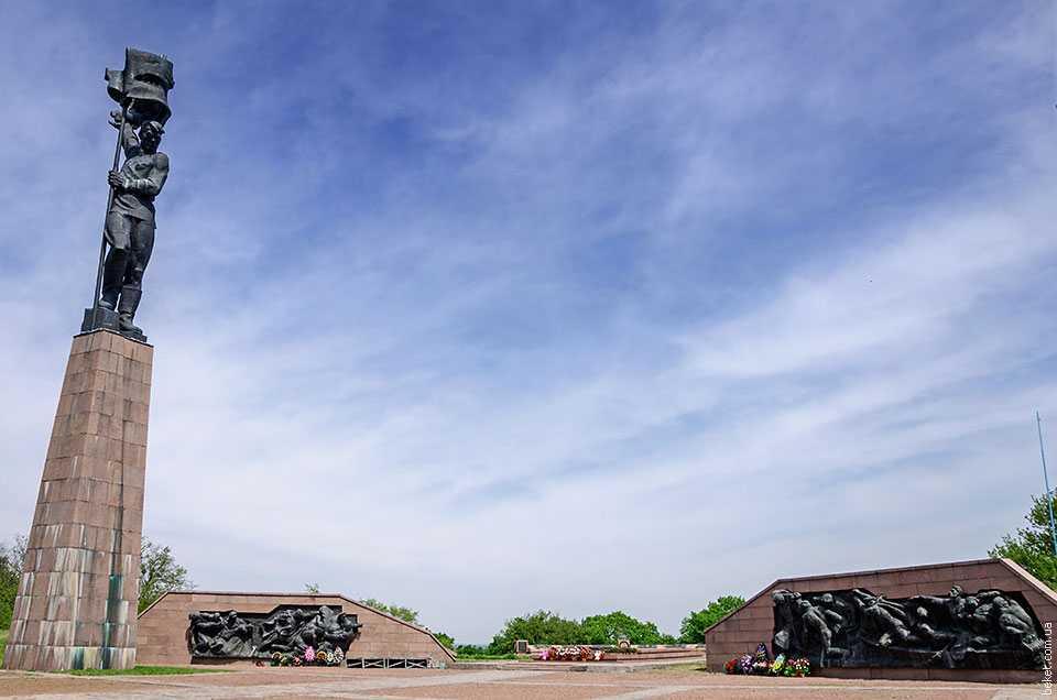Мемориальный комплекс «Букринский плацдарм» в селе Балыко-Щучинка