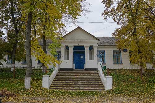 Контора СООО «Тясмин» в селе Бирки