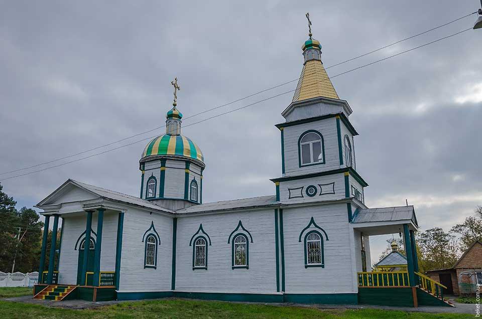 Церковь Святого Николая Чудотворца в селе Бирки