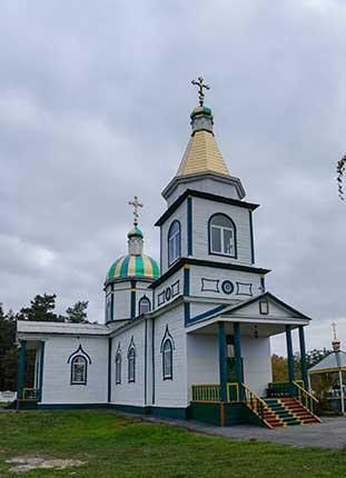 Церковь Святого Николая в Бирках