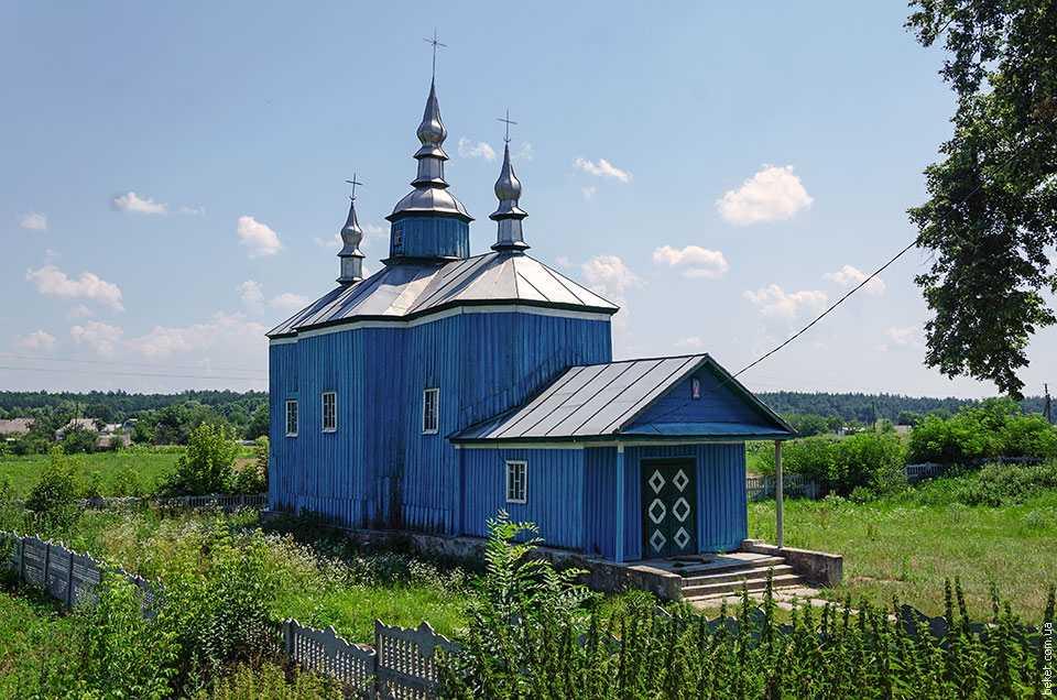 Воскресенская церковь в селе Бородани