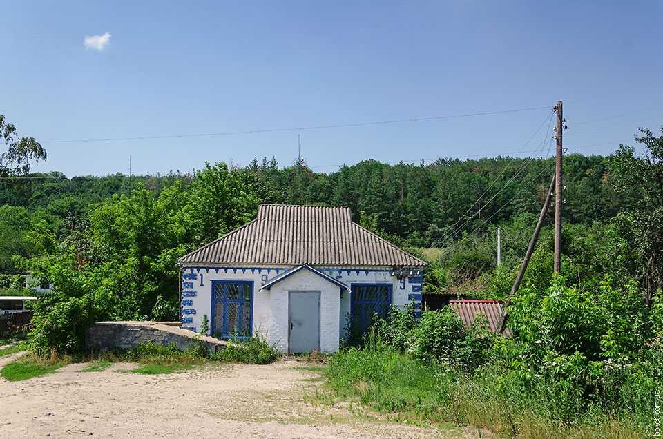 Магазин в селе Бородани