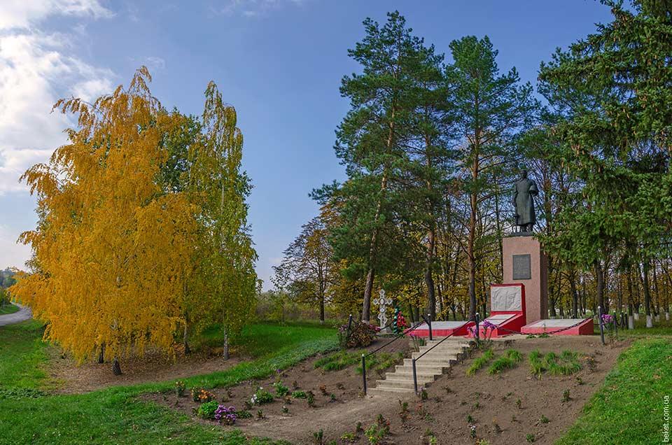 Памятник воинам погибших в Второй мировой войне