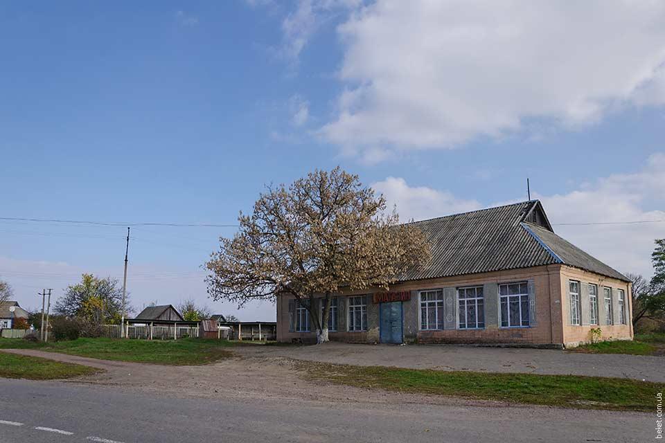 Магазин в селе Бовтышка
