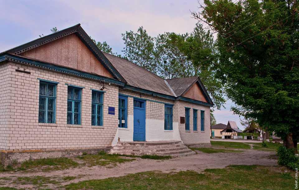 Библиотека в селе Бубновская Слободка