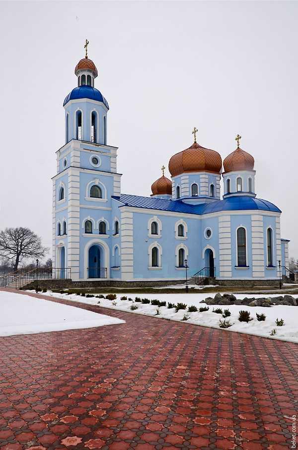 Церковь в селе Будище