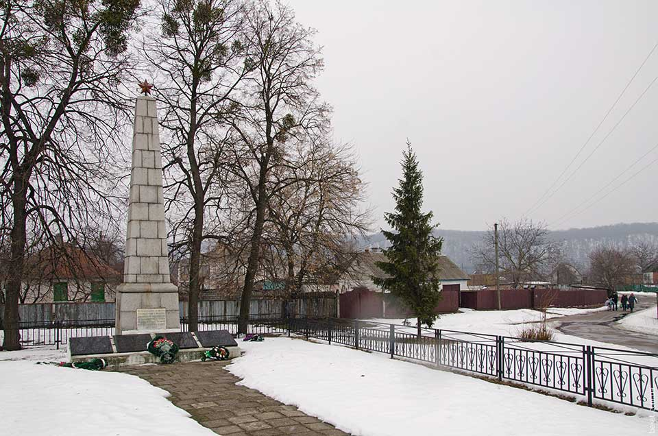Обелиск в селе Будище