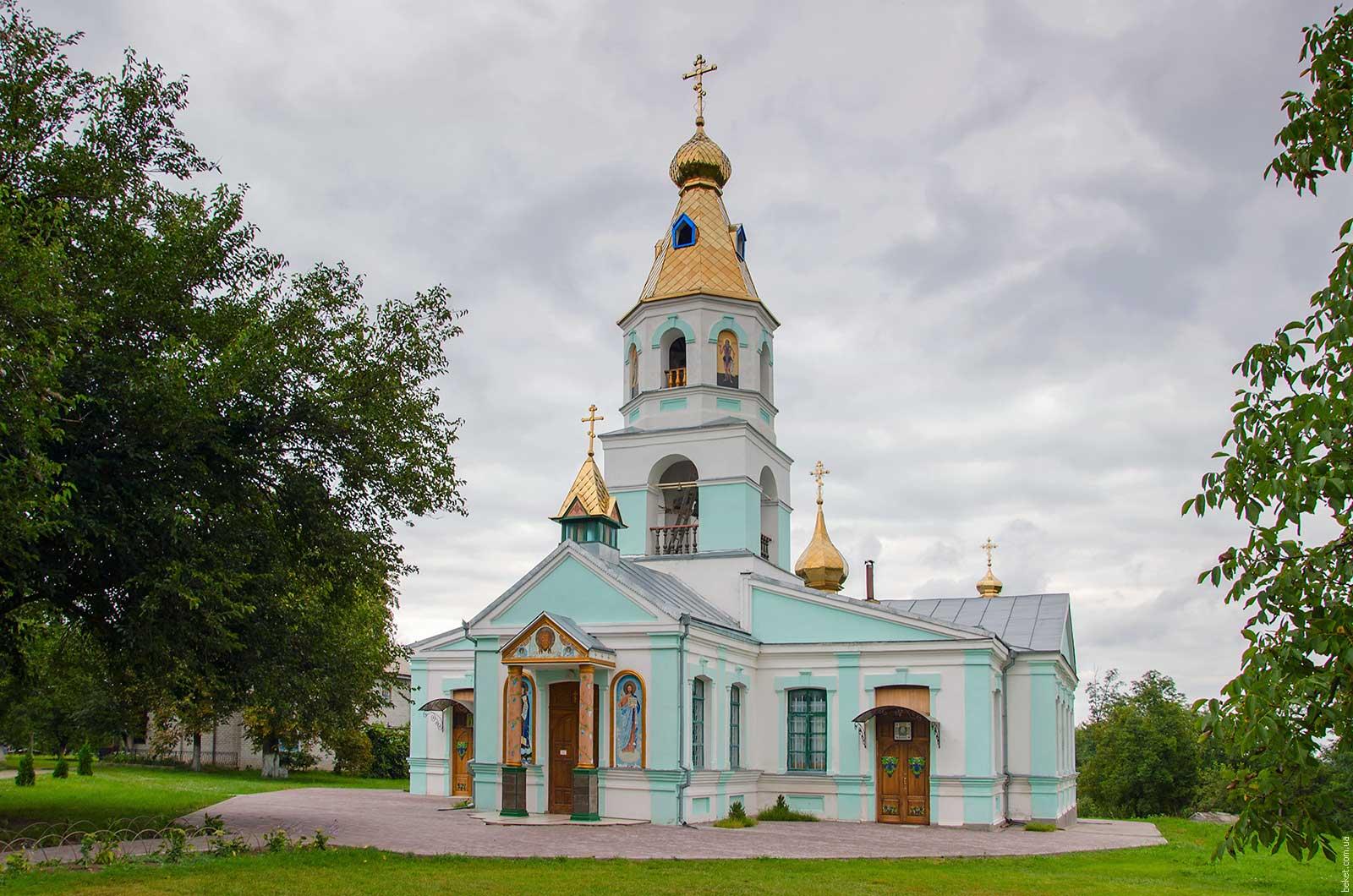 Свято-Онуфриевский мужской монастырь в селе Чубовка