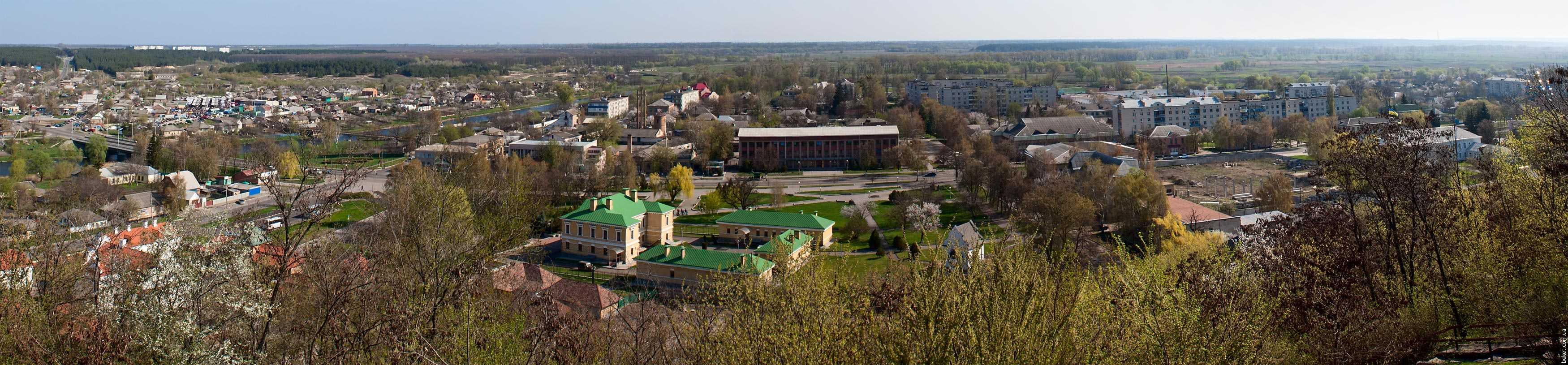 Панорама города Чигирин