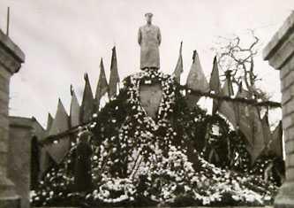 Памятник Сталину в Черкассах 1953 г.