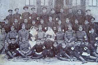 Поезд милосердия г. Черкассы 1914 г.