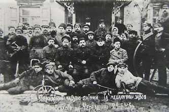 Рабочие Черкасского чугунолитейного и механического завода 1925 год
