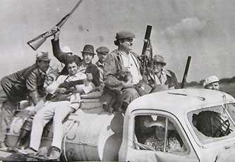 Съемки фильма «Ни пуха ни пера» в Черкассах 1973 г.