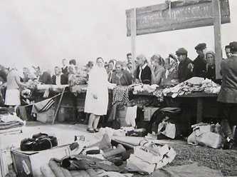 Осенняя ярмарка в Драбове 1968 г.