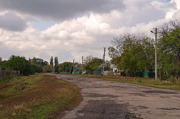 Окраины села Драбовцы