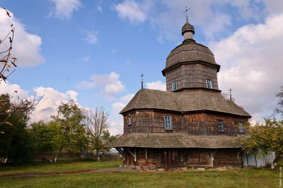 Памятник архитектуры Троицкая церковь XVIII ст.