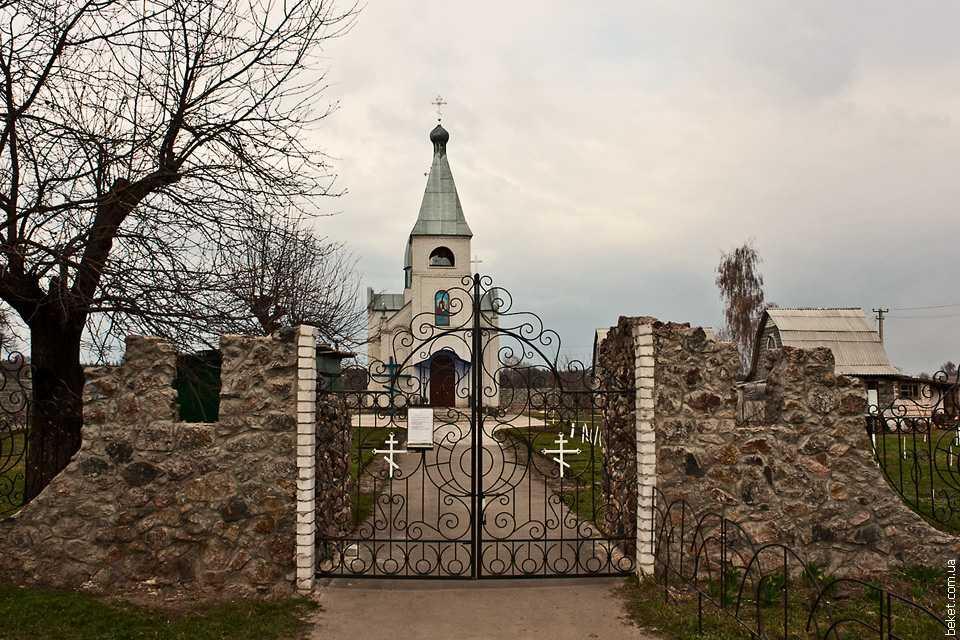 Церковь в Дубиевке
