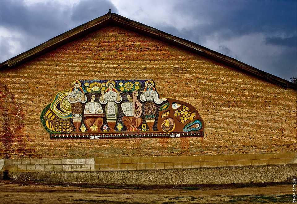 Фреска советских времен