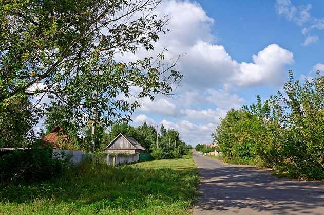 Улицы в Дырдыне