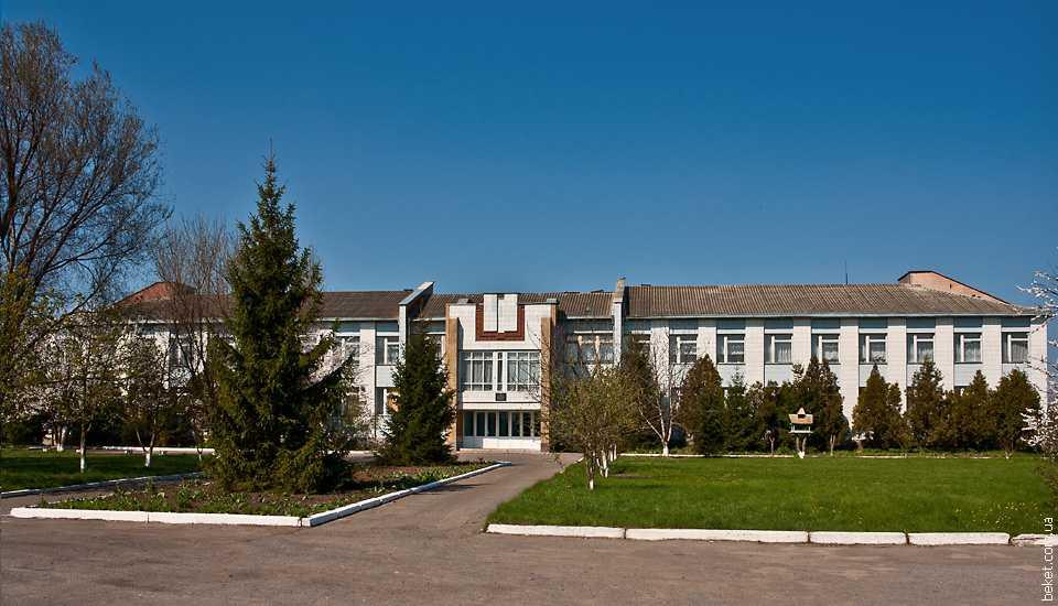 Школа в селе Галагановка