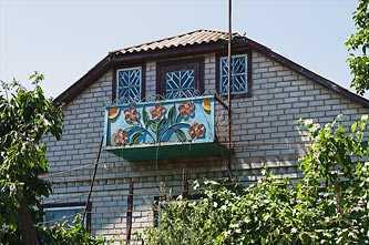 Балкон в селе Головковка