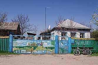 Современная роспись в селе Головковка