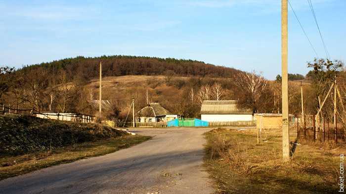 Въезд в Гуляйгородок, со стороны села Головятино 27.03.2010