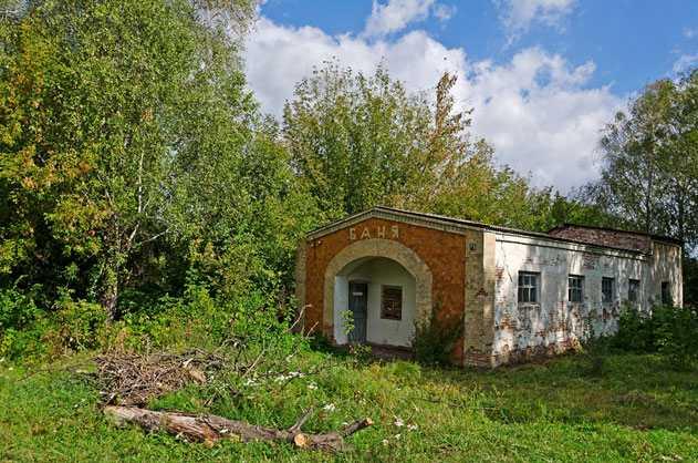 Баня в селе Хлыстуновка