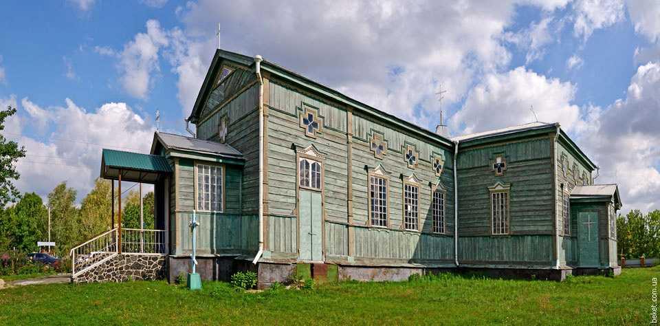 Михайловская церковь в Хлыстуновке