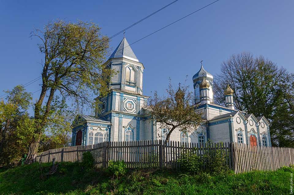 Церковь в селе Ивановка