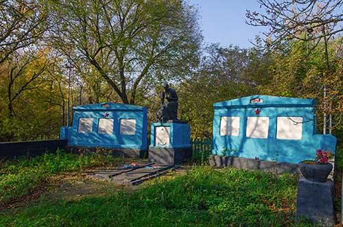 Братская могила воинов погибших в Второй мировой войне