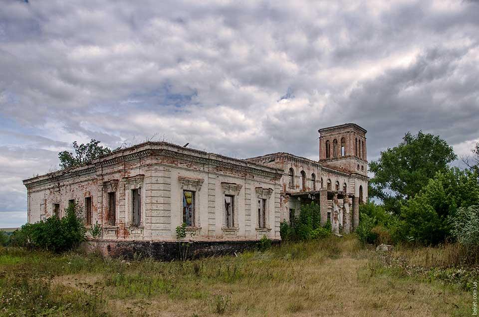 Дворец Вимберга в селе Ясиноватка