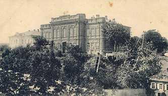 Исторические фотографии Черкасс. Мужская гимназия