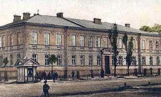 Исторические фотографии Черкасс. Духовное училище