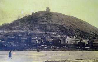 Замковая гора. Начало XX ст.