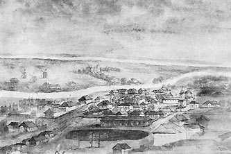 Чигирин. Рисунок Наполеона Орды 1870-1874гг.