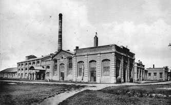 Старинные фотографии Городище. Сахарный завод в Городище