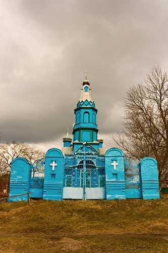 Успенская церковь в селе Жаботин