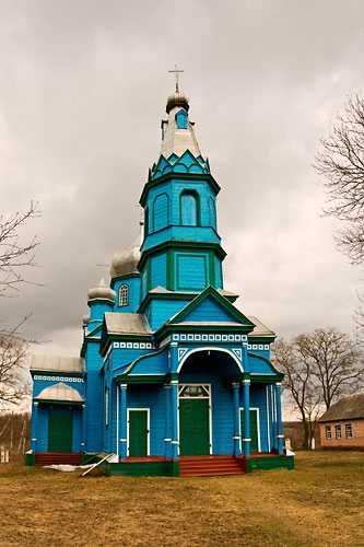 Церковь в селе Жаботин