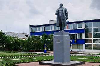 Памятник Ленину в Каменке