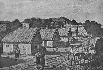 Вид на Каменку в начале XIX столетия