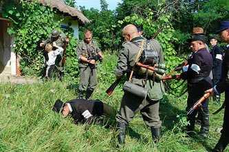 Съемки телефильма в селе Стецовка