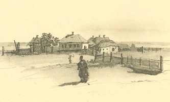 «В Черкасах». Т.Г. Шевченко, 1859