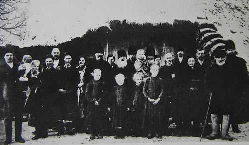 Родственики Т.Г. Шевчека. Кириловка 1914 г.