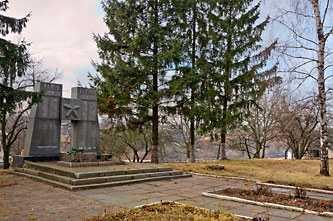 Мемориал павшим воинам ВОВ в селе Скотарево