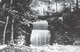 Водопад в Софиевке